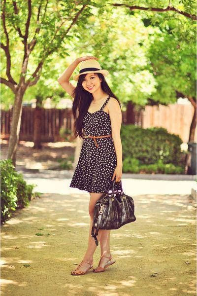 black Forever 21 dress