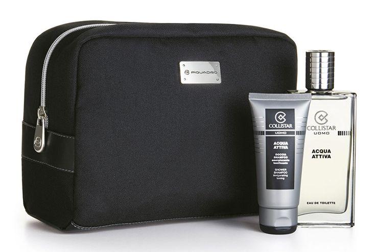 Acqua Attiva - Acqua Attiva Eau de Toilette 100 ml + Doccia 50 ml + travel-bag Piquadro