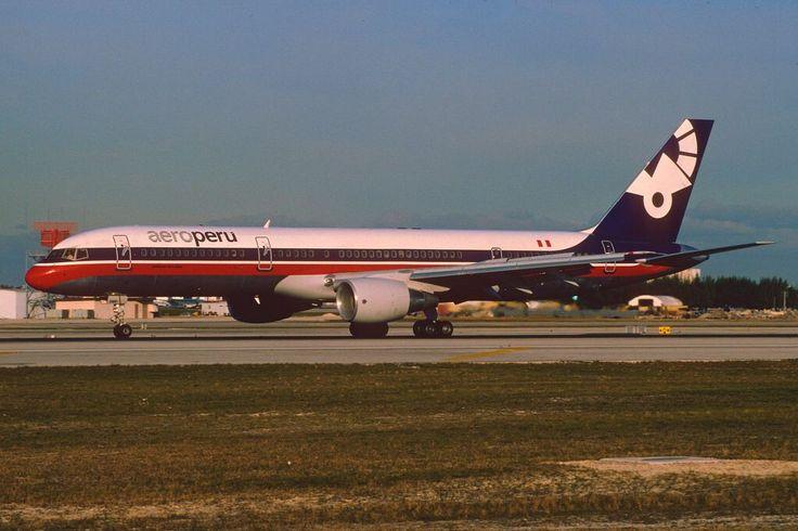 Aero Peru Boeing 757-23A; XA-SMD, February 1995