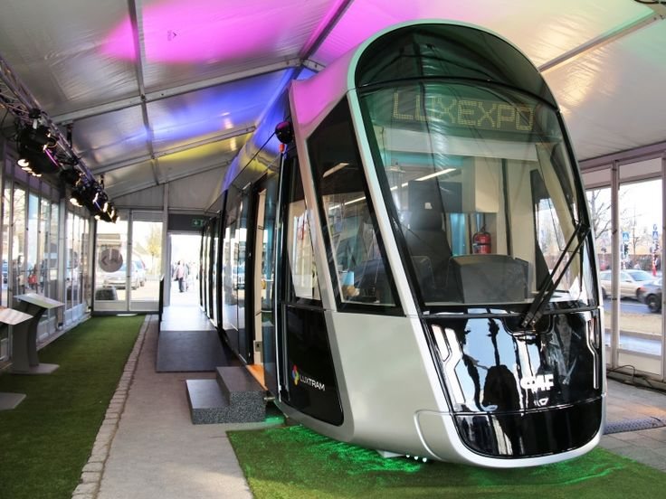 A full-sized mock-up of the tram that CAF is to supply to Luxembourg City went on display. The first vehicles are scheduled for delivery in early 2017. No catenary is envisaged on the 3·6 km between Pont Rouge and the main line station. The first section will link Pont Rouge and Luxexpo. Extensions at both ends, from Luxexpo to the airport and Pont Rouge to Cloche d'Or, are envisaged to open in 2020-21, taking the line to 16·2 km.