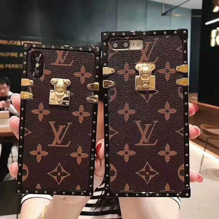 LV Inspired iPhone Case With Lanyard in 2020 Louis