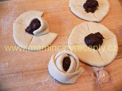 Kynuté muffinové růže
