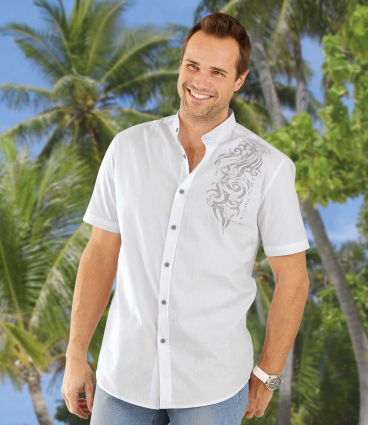 Chemise Majuro Atoll #atlasformen #formen #discount #shopping #casual #style #travel#voyage #newin