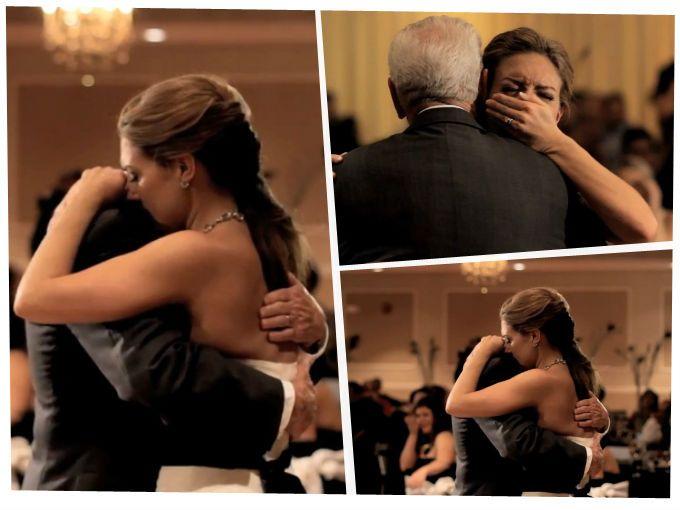 Conmovedor y especial baile de padre e hija el día de su boda