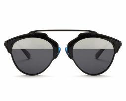 Štýlové polarizované slnečné okuliare - čierne