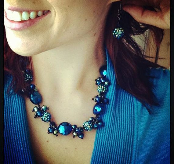 Midnight Blue by Colette Louise Designs
