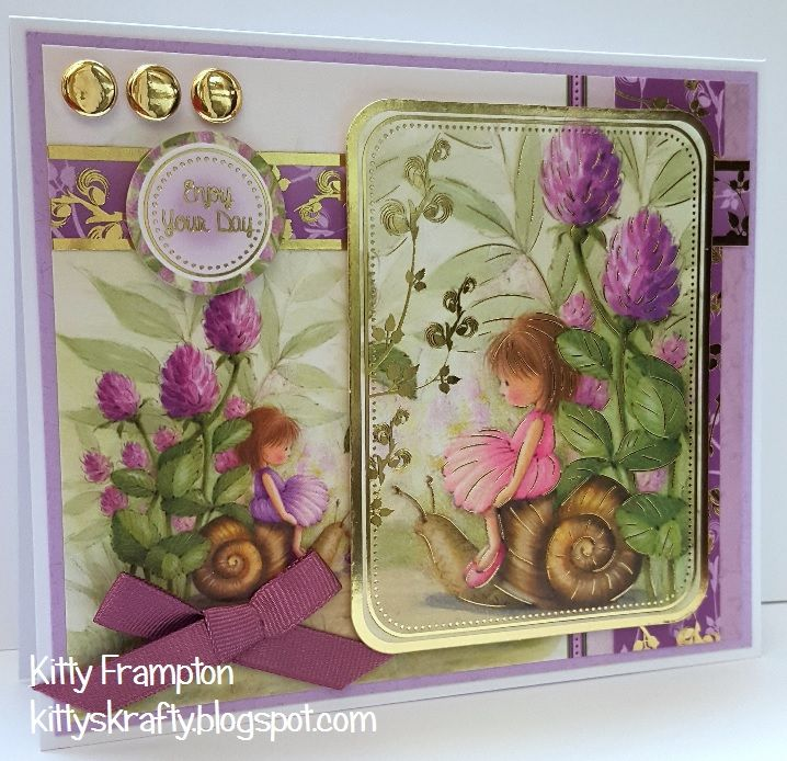Made using Hunkydory Garden Secrets Collection.