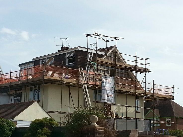 Hip To Gable And Flat Roof Dormer In Build By Attic Designs Ltd 1930s Semi Detached House Wooden Terrace New Staircase