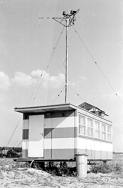 FotoBlog Sebastian Elijasz: Stare zdjęcie z @Airport Gdansk / Old photo of #Gdansk #Airport | #History #Tower