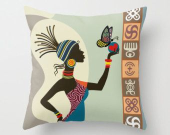 African Artwork, African Woman, African Painting, African Wall Decor, South African Art, African Wax Fabric - 8 X 10 * Also available in 16 X 20 @ $46 and 11 X 14 @ $26 * This print is unmatted & unframed * Print size is 8 X 10 inches (with a white border for framing) * Printed using Epson Stylus printer. Fade resistance / Print longevity, 200 years (Epson) * Ships within 3 - 5 business days in a stay flat envelope, and comes in a clear sleeve * colours and clarity may differ with your m...