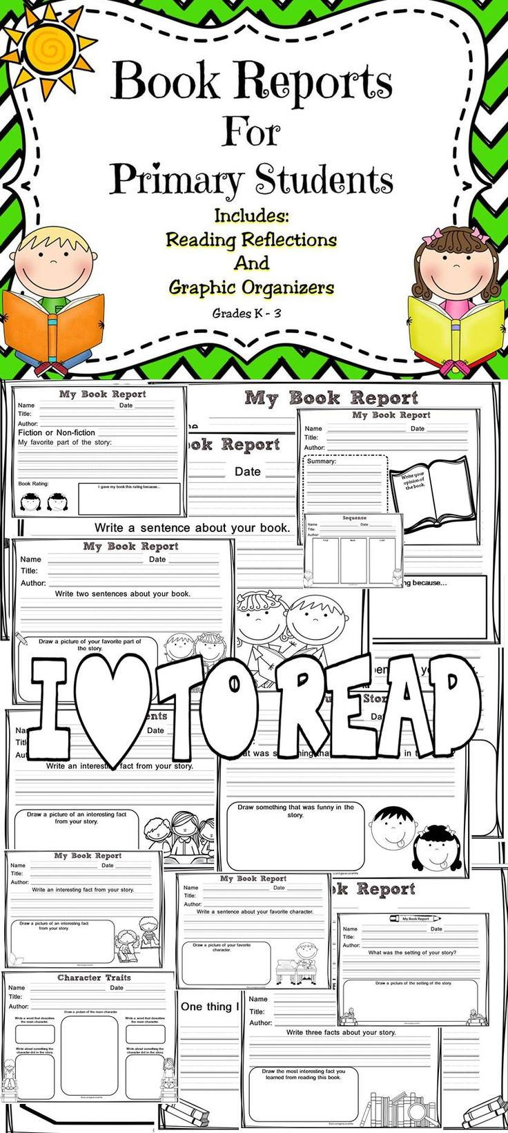 Engage young readers with this reading resource! This reading resource will help students develop their reading comprehension skills and increase their understanding when learning about story elements. #reading