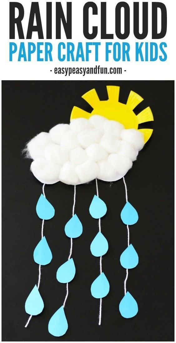 Rainy Day Crafts For Kids Fun On A Stormy Day Girls Crafts