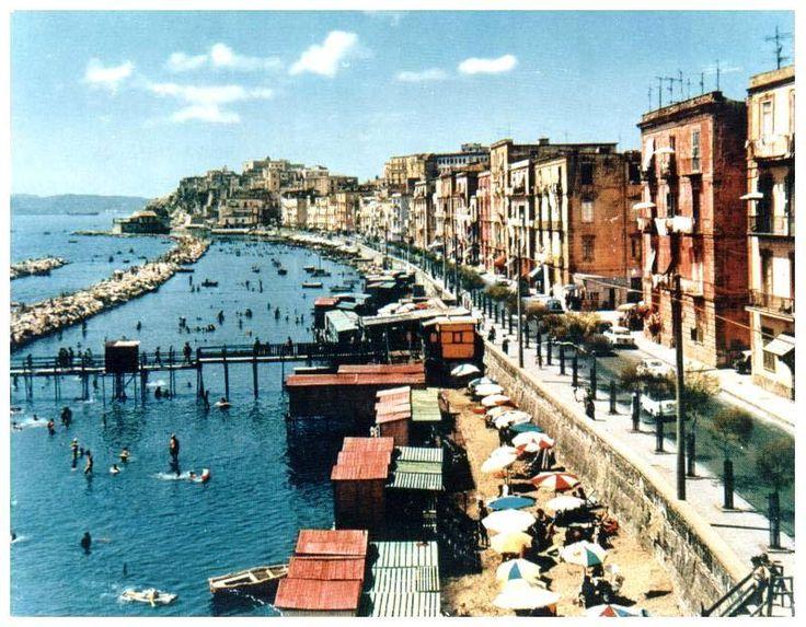 Lido Spina - Via Napoli, Pozzuoli - Foto vintage