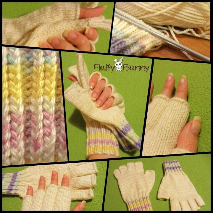 Fingerless gloves!