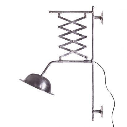Wandlampe Vanha - Eisen - vernickelt - 1-flammig