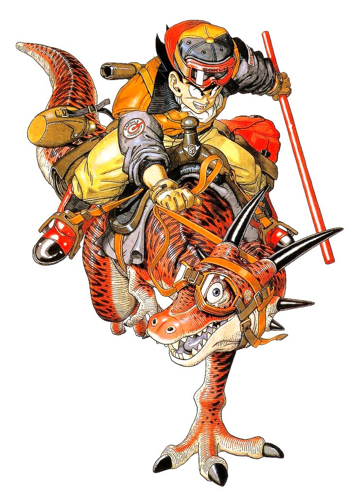 Original Dragon Ball Z art