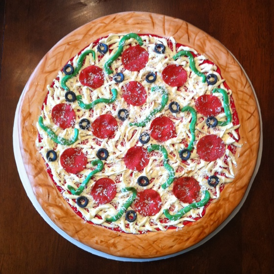 pizza birthday cake 17 best images about pizza on pepperoni 6618