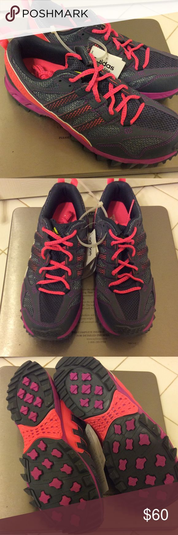 ADIDAS size 7.5 trail running shoes New with tags ADIDAS trail running shoes size US 7.5. Adidas Shoes Athletic Shoes