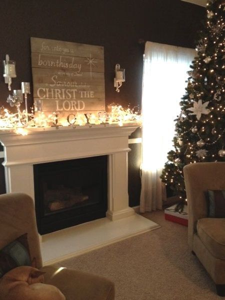 Best 25 indoor christmas lights ideas on pinterest for Indoor fire decoration