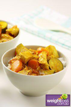 Sweet Chicken Curry. #HealthyRecipes #DietRecipes #WeightLossRecipes weightloss.com.au