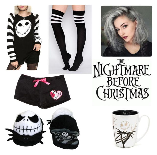 The Nightmare Before Christmas by the-psychopath-bitch300 on Polyvore featuring polyvore, fashion, style, Burton and clothing
