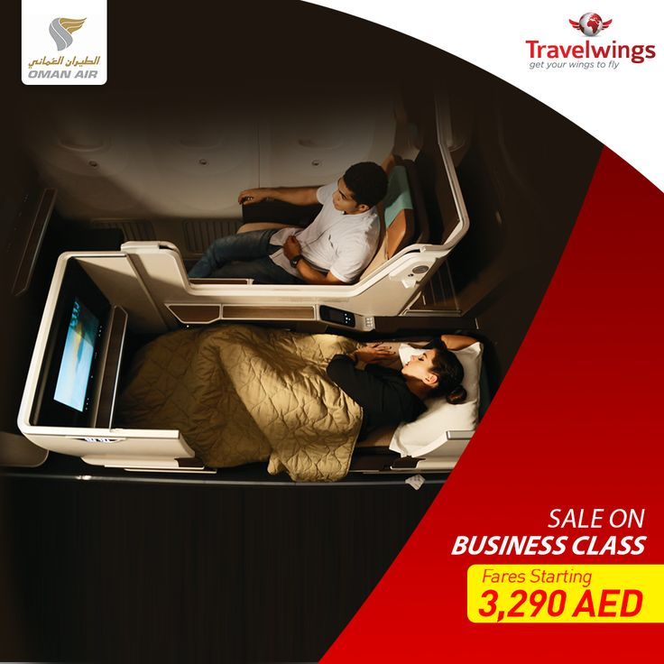 Fly to your favorite destinations across #FarEast, #China and #Europe including #Bangkok, #Milan, #Paris and #London in absolute luxury. #OmanAir is offering the cheapest Business Class return fares starting at just 3,290 AED. Hurry and buy your ticket today: http://www.travelwings.com/flight-offers/oman-air.aspx