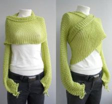 woollen shrug and shawl - Google Search
