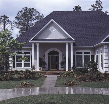 88 best images about southern and southwestern home plans for 4 car garage square footage