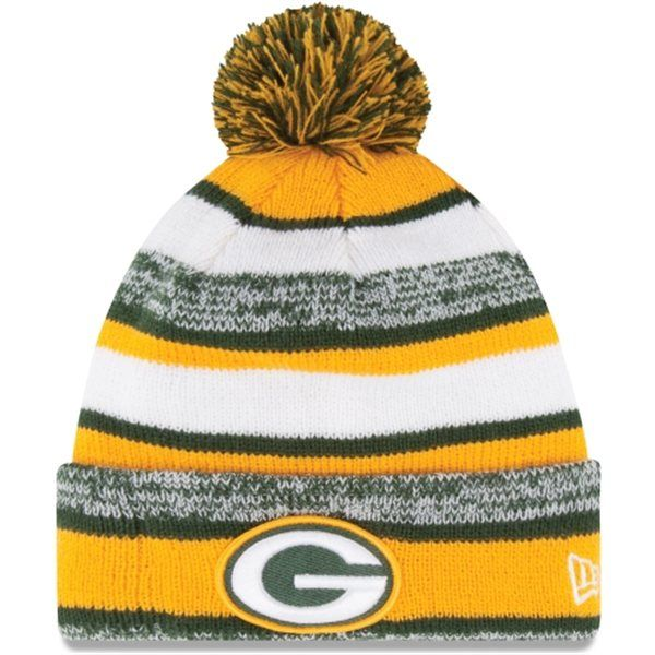 178929d4161 ... 2018 nfl sideline cold weather official td knit hat e9fcd 8b7cf   purchase nike phillip cap ii new era green bay packers gold on field sport  sideline ...