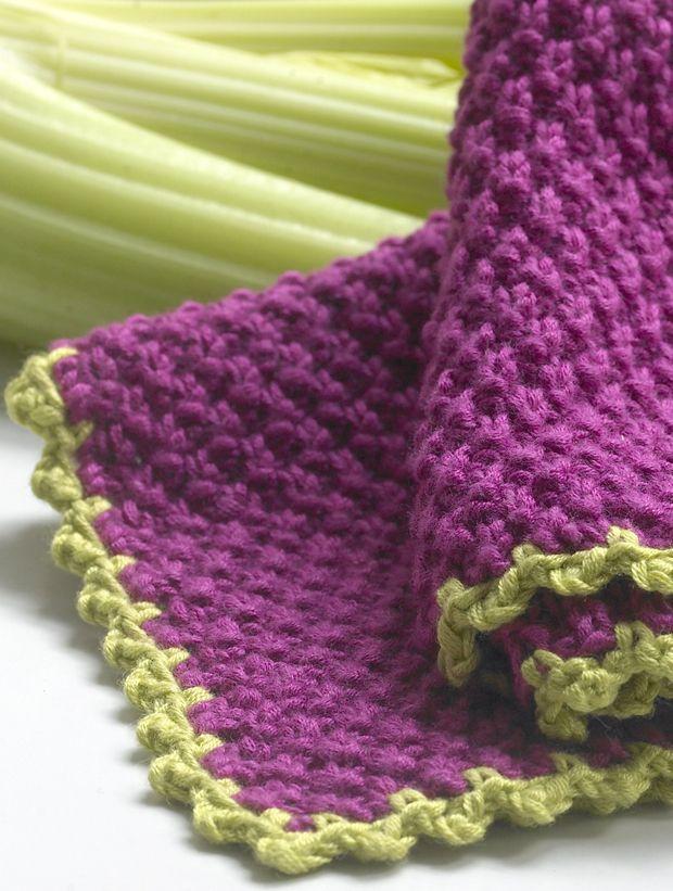 Hjemmelavede karklude, som du selv har strikket, er både bæredygtige og langt pænere end dem, du kan købe i supermarkedet. Få en opskrift her!