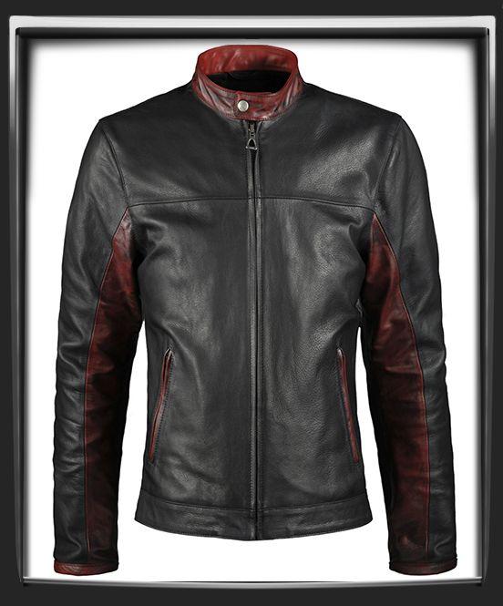 Crusader Dark Knight Men's Motorcycle Jacket
