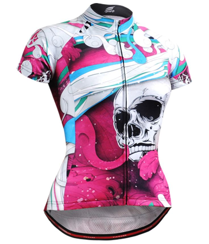 Fixgear Mujer Ciclismo Maillots manga corta Medium bike clothing Top M