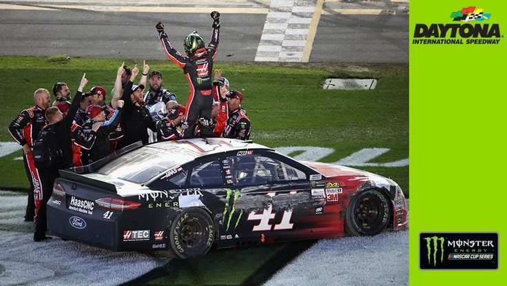 VIDEO:  A Monster Win For Kurt Busch  Kurt Busch takes the lead on the last lap to win his first Daytona 500.  02/26/2017  -          Kurt Busch takes the lead on the last lap to win his first Daytona 500.