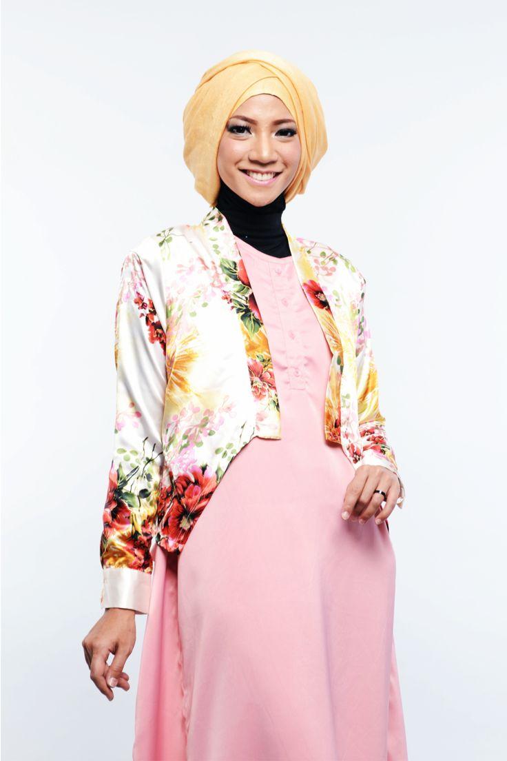 Jual Pakain Muslim Wanita Model Blazer