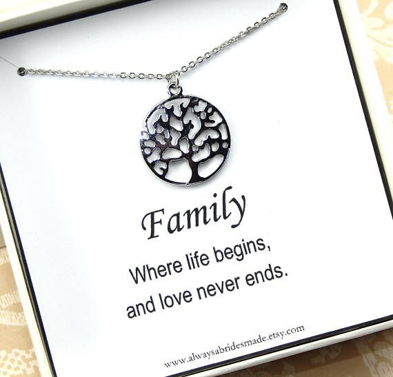 Mother in Law Collier Mother in Law Anniversaire Cadeau Mother in Law Cadeau