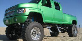 Lifted Chevy Trucks