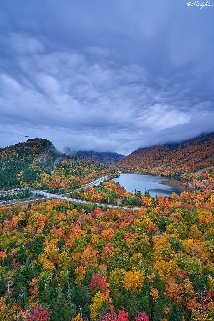 Franconia Notch - Franconia Notch New Hampshire.