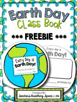 Earth Day Class Book ***FREEBIE***  - repinned by @PediaStaff – Please Visit ht.ly/63sNtfor all our pediatric therapy pins