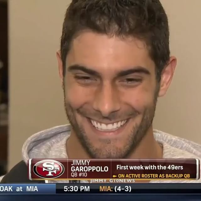 VIDEO: Jimmy Garoppolo talks to the media after the 49ers-Cardinals game today