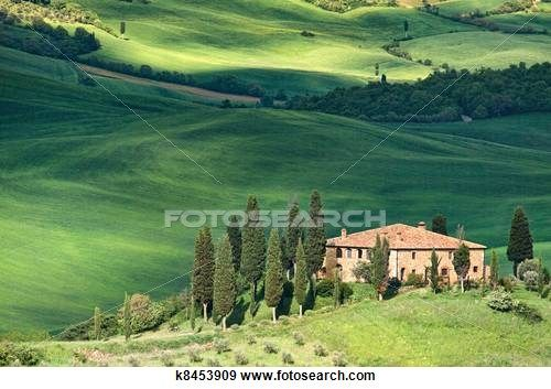 Landscape in Tuscay