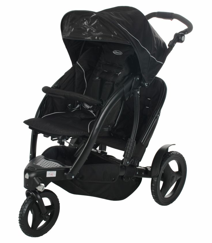 Graco Trekko Duo Tandem Pushchair - Sport Luxe £189.99 from Kiddicare. Maybe we should get a double with a 17 month old and newborn.