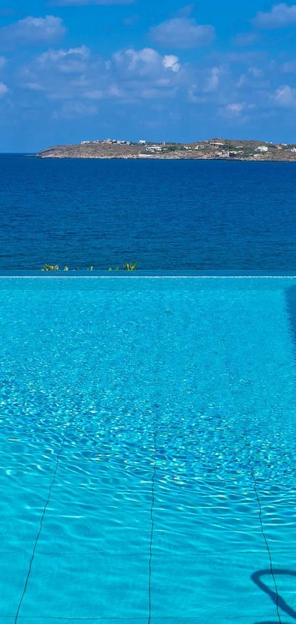 Above the surface - View from Blue Bay Villa in Chania, Crete