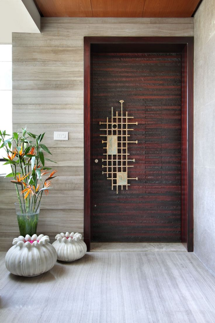 House design entrance - Beautiful Door Handle