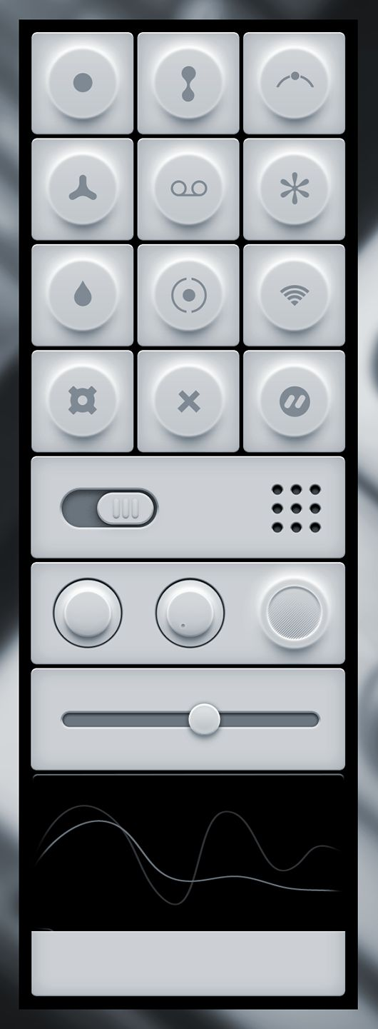 Minimal Light User Interface