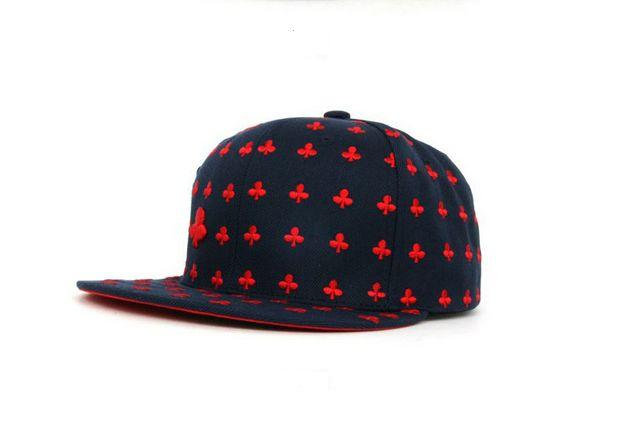 Unisex Poker snapback cap: CLUB