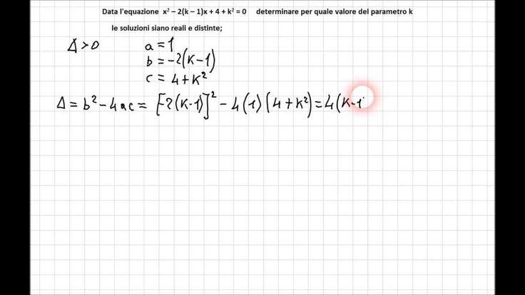 Equazioni Parametriche 2