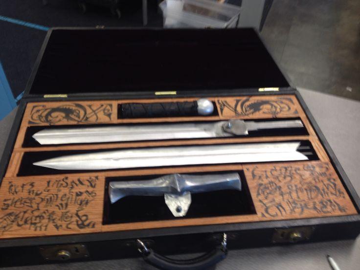1:1 highlander kurgan sword case