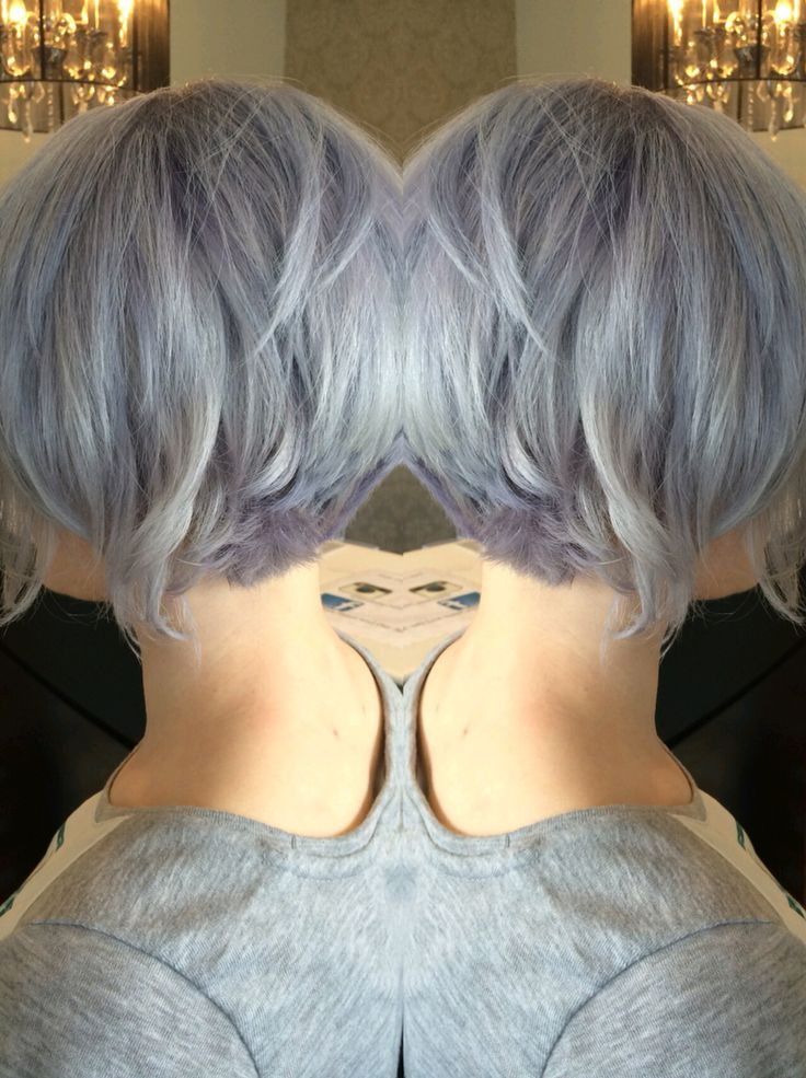 From Platinum To Silver Lavender Greyhair Silverhair