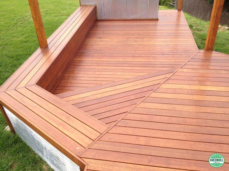Merbau Decking | Simple but stylish Merbau Deck | www.greenhilltimbers.com.au (03) 9465 9875.