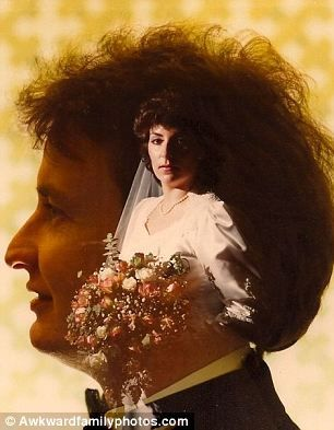 'Mom & Dad wedding 1984. Wedding photos just aren't what they used to be'